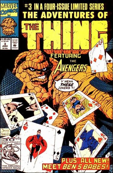 Adventures of the Thing 3-A by Marvel
