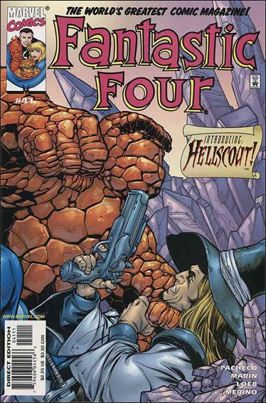 Fantastic Four (1998) 41-A by Marvel
