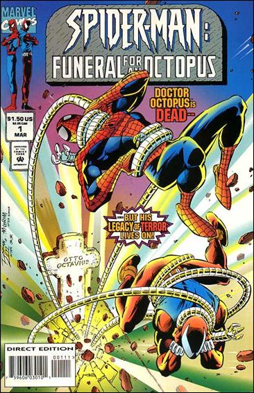 Spider-Man: Funeral for an Octopus 1-A by Marvel