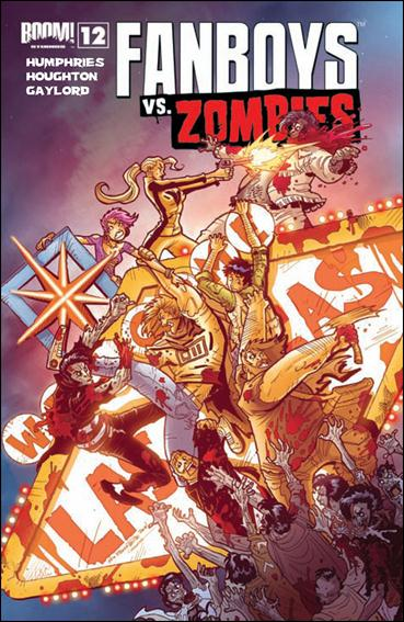 Fanboys vs Zombies 12-A by Boom! Studios