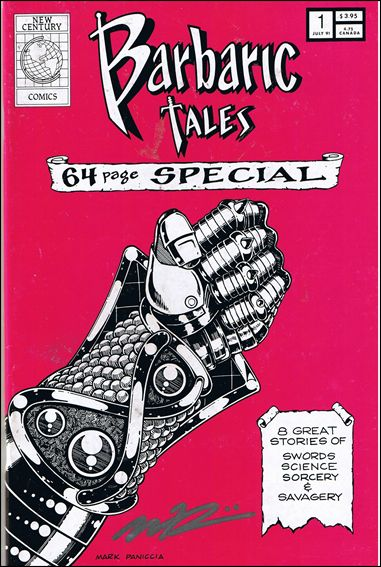 Barbaric Tales 1-A by New Century Comics