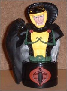 G.I. Joe Mini Resin Busts Serpentor (Cobra Emperor) 1/300 by Palisades Toys