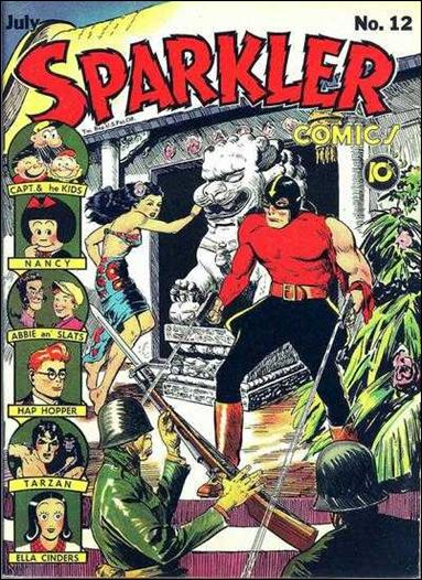 Sparkler Comics (1941) 12-A by United Features Syndicate
