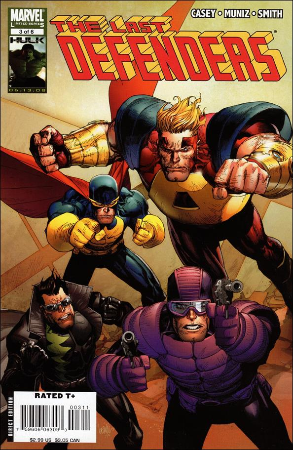 Last Defenders 3-A by Marvel