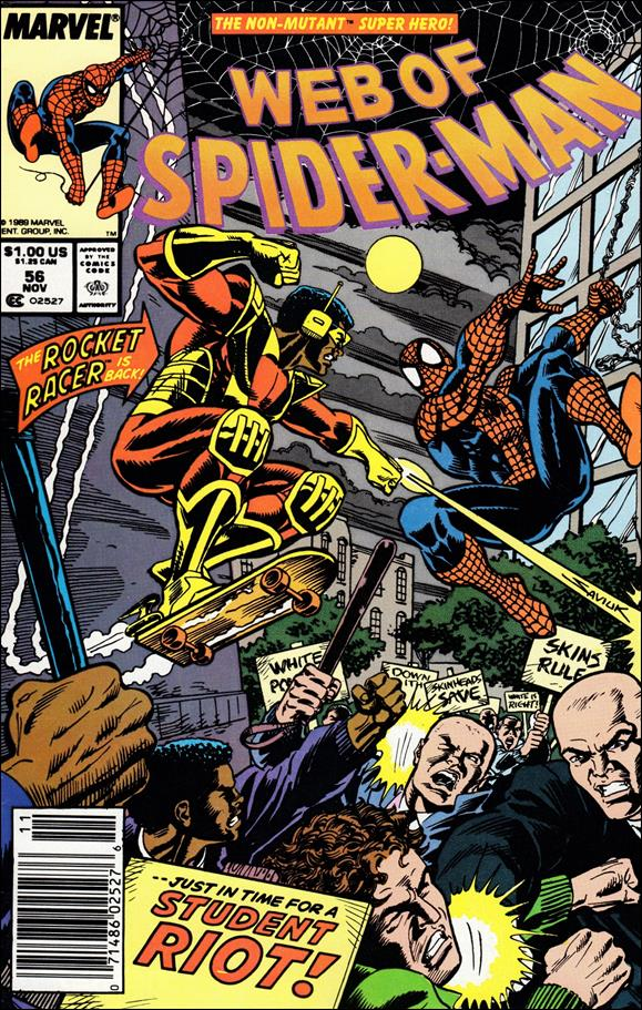 Web of Spider-Man (1985) 56-A by Marvel