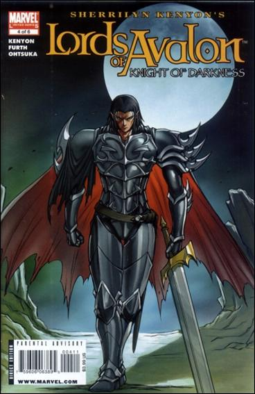 Lords of Avalon: Knight of Darkness 4-A by Marvel