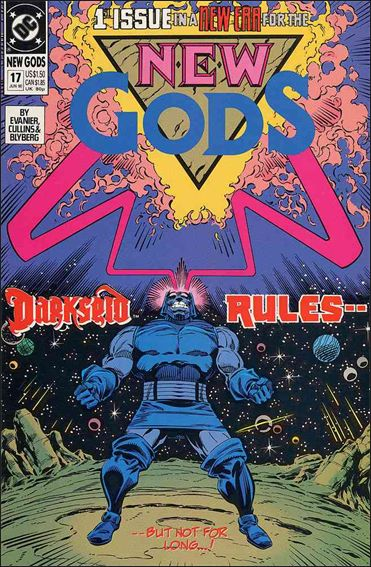 New Gods (1989) 17-A by DC
