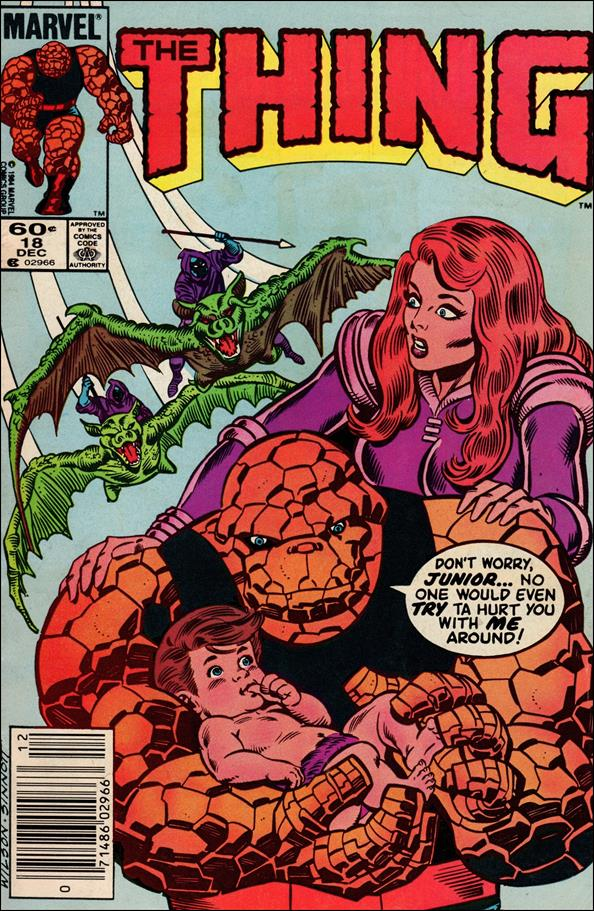 Thing (1983) 18-A by Marvel