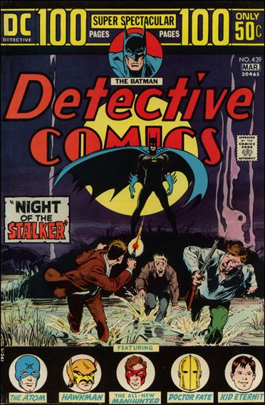Detective Comics (1937) 439-A by DC