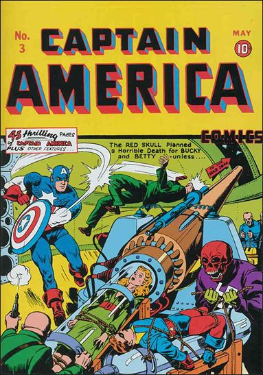 Captain America Comics (1941) 3-A by Timely