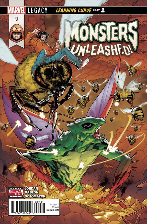 Monsters Unleashed (2017/06) 9-A by Marvel