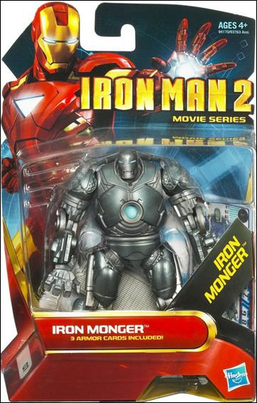 Iron Man 2 Iron Monger (Movie Series) by Hasbro