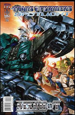 Transformers Spotlight nn4-A by IDW
