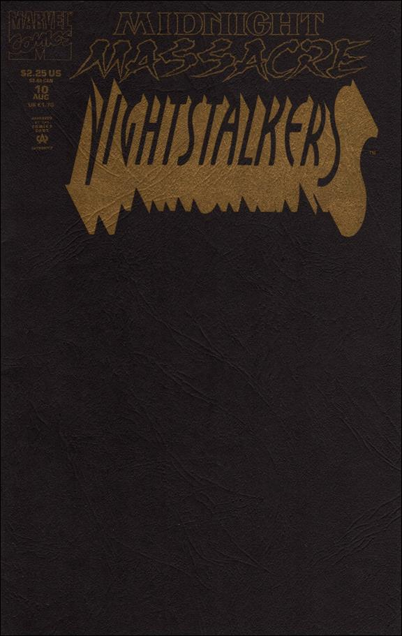 Nightstalkers 10-A by Marvel