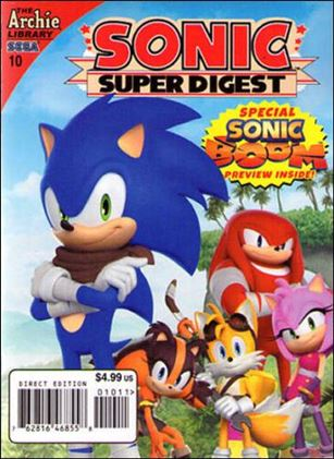 Sonic Super Digest 10-A