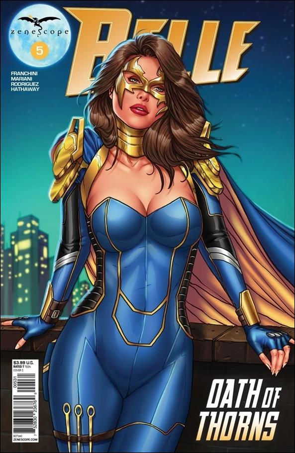 Belle: Oath of Thorns 5-C by Zenescope Entertainment