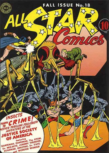 All Star Comics (1940) 18-A by DC