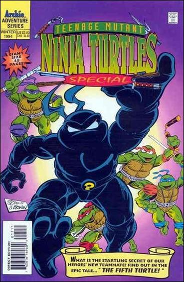 Teenage Mutant Ninja Turtles Adventures Special 11-A by Archie