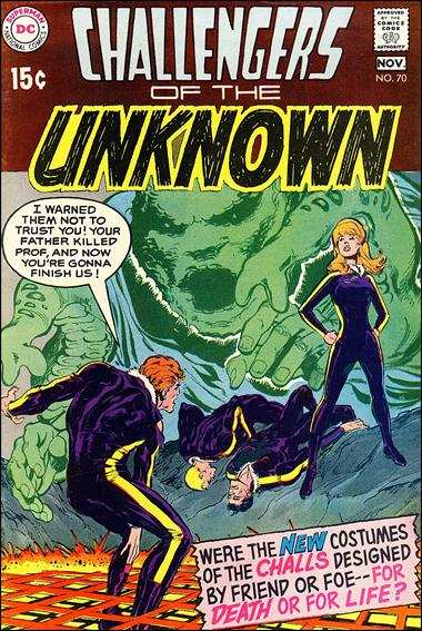 Challengers of the Unknown (1958) 70-A by DC