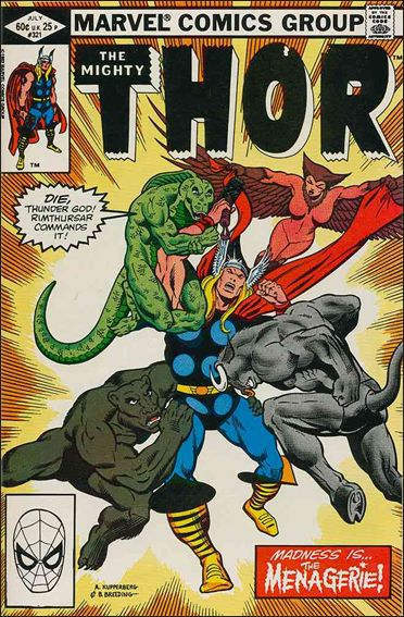 Thor (1966) 321-A by Marvel