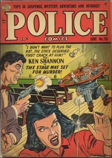 Police Comics 116-A by Comic Magazines