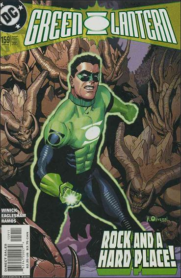 Green Lantern (1990) 159-A by DC