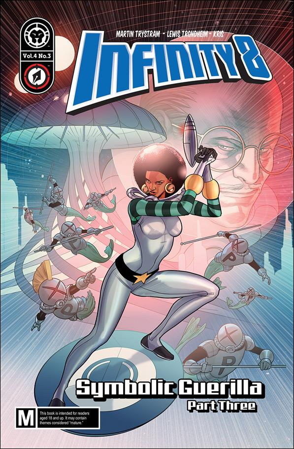 Infinity 8 12-A by Lion Forge Comics