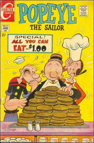 Popeye (1948) 102-A by Dell