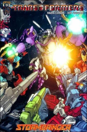 Transformers: Stormbringer 4-A by IDW