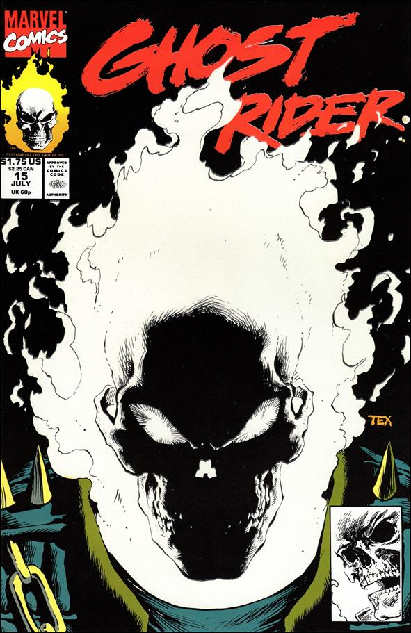 Ghost Rider (1990) 15-A by Marvel