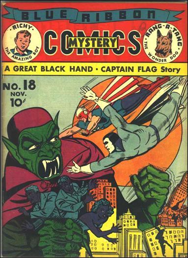 Blue Ribbon Comics (1939) 18-A by MLJ