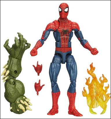 Marvel Legends Infinite: Spider-Man (Green Goblin Series) Amazing Spider-Man (Movie) Loose by Hasbro