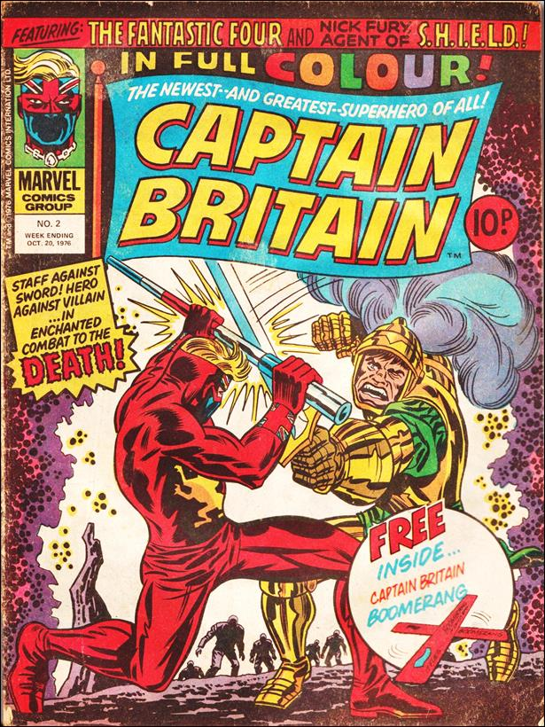 Captain Britain (UK) (1976) 2-A by Marvel UK