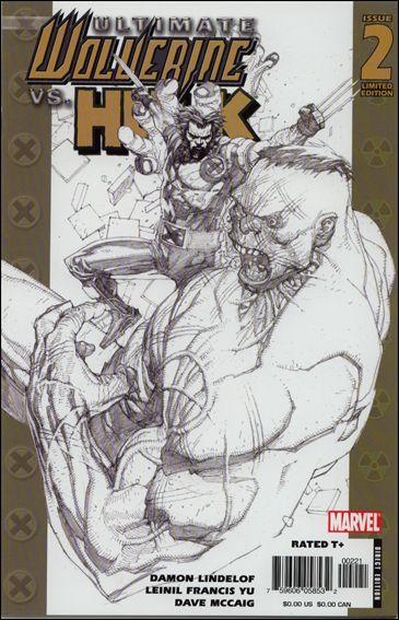 Ultimate Wolverine vs Hulk 2-B by Marvel