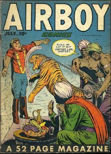 Airboy Comics (1948) 6-A by Hillman
