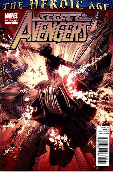 Secret Avengers (2010) 3-C by Marvel