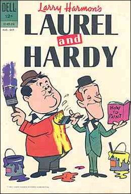 Laurel and Hardy (1962) 1-A by Dell