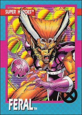 X-Men: Series 1 (Base Set) 16-A by Impel