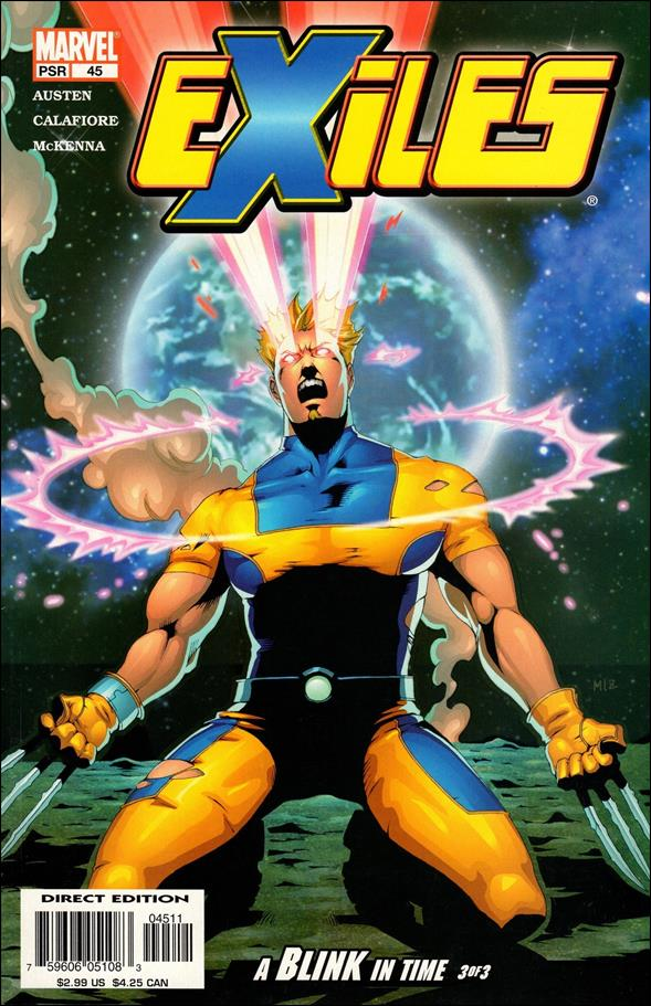 Exiles (2001) 45-A by Marvel
