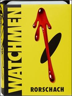 Watchmen Rorschach by Mattel