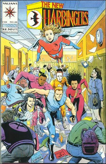 Harbinger (1992) 26-A by Valiant