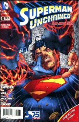 Superman Unchained 6-C by DC