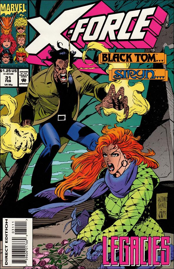 X-Force (1991) 31-A by Marvel