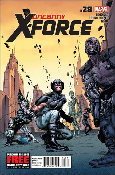Uncanny X-Force (2010) 28-A by Marvel