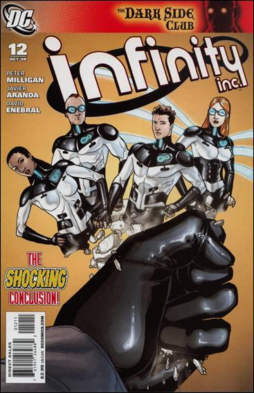 Infinity Inc. (2007) 12-A by DC
