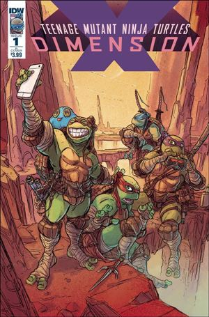 Teenage Mutant Ninja Turtles: Dimension X 1-B