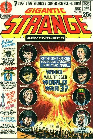 Strange Adventures (1950) 226-A by DC