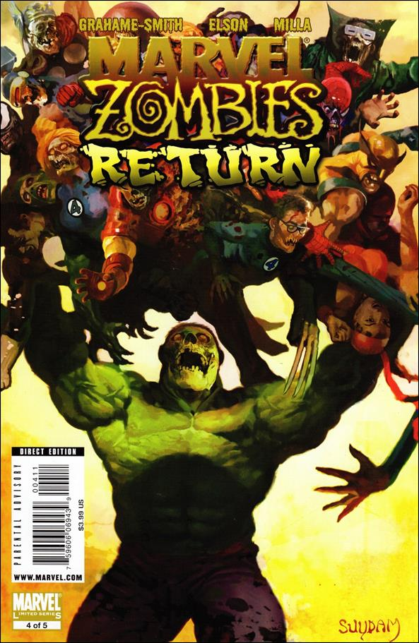 Marvel Zombies Return 4-A by Marvel