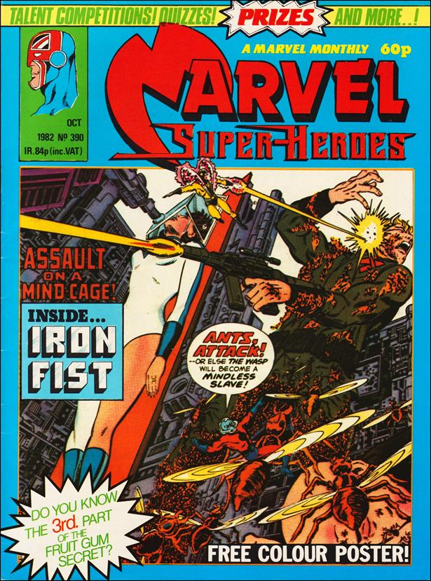Marvel Superheroes (UK) 390-A by Marvel UK