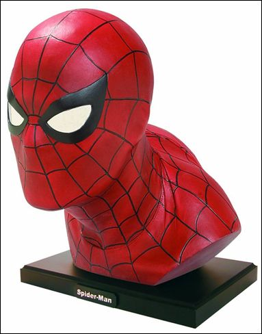 Marvel Life-Size Head Busts Manufacturer's Proof 1/199 by Dynamic Forces